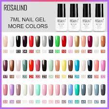 Rosalind Gel Lak 2019 Top čisté Barvy Prodej Off Gellak Bílý Uv Gel