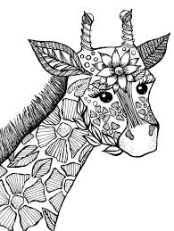 Abstract Animal Coloring Pages For Adults Animal Coloring Pages Pdf
