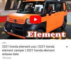 Tm + © 2021 vimeo.com, inc. New Honda Element Is Unfortunately Fake News Fifth Element Camping