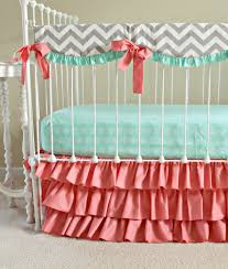 nice gorgeous blue and pink nursery bedding with anchor crib bedding