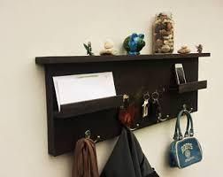 Key Coat Rack Entryway Organizer Coat Rack Mail Holder Key Hooks Wall 72