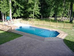 semi inground pool pictures swimming designs pools s48
