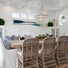 coastal dining room. White Coastal Dining Room With Oars H