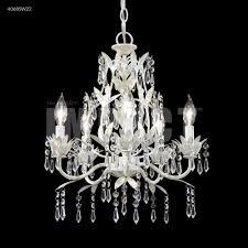 5 arm mini crystal chandelier