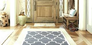 interior rugs for entry way comfortable first impressions your entryway the fox she regarding 11