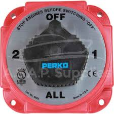 perko battery isolator switch off 1 all 2 perko heavy duty alternator disconnect battery isolator 380a 12 32v