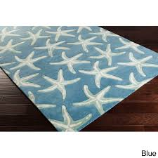 miracle coastal rug runners beach area rugs resort themed bath mats seashell white navy