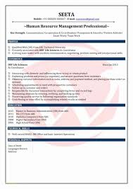 Resume Format For Freshers Mechanical Engineers Pdf Free Download Or