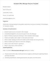 Libreoffice Resume Template Interesting Libreoffice Cv Template Office Resume Assistant Manager Free