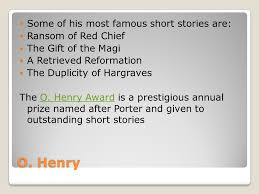 ransom of red chief o henry o henry real was william  4 o henry some of his most famous short stories