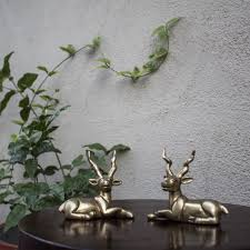 deer brass handicrafts by rightwood