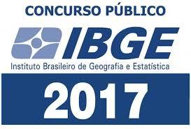 Resultado de imagem para concurso ibge 2017