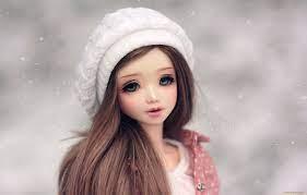 Profile Wallpaper Cute Barbie Doll ...