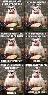 Pictures > chemistry cat meme via Relatably.com