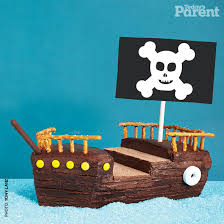 ahoy me hearties this pirate ship cake is one of our most popular birthday cake ideas with both kids and s it looks impressive but is easy to make