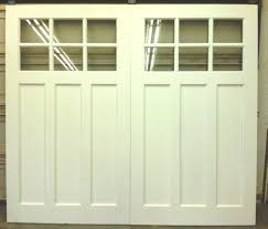 white wood garage door. White Wood Garage Door