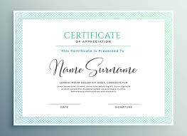 Certificate Of Appreciate 33 Certificate Of Appreciation Template Download Now