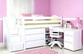 youth beds with storage. Wonderful Beds White Loft Bed With Storage Low Kids Beds Bedroom  Furniture Bunk   In Youth Beds With Storage B