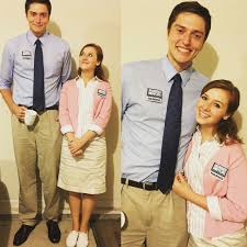 office halloween ideas. pam beesly and jim halpert from the office halloween costume ideas