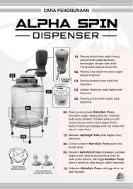 Guide Alpha Spin Dispenser Ffg Edunet Spec