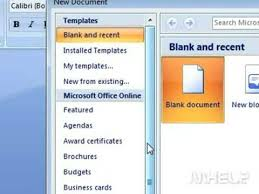How To Create A Resume In Microsoft Word 2007 Youtube With Regard To