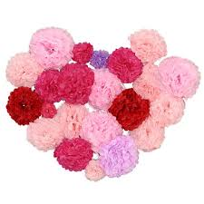 Tissue Paper Flower Pinterest Diy Decorative Tissue Paper Pom Poms Flowers Wrapping Ball Perfect