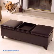 ottomans nice black accent tufted leather ottoman coffee table in