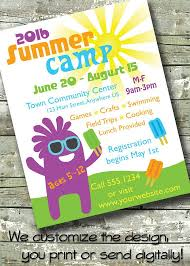 Summer Camp Flyer Template Free 7 Photos Dni America Flyer Gallery