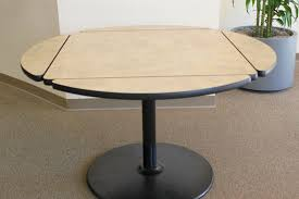 Square to round table Chaddock Drop Leaf Table Click To Enlarge Wayfair Uci Conference Center Alternative Table