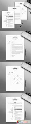 Modern Resume Template Cv Template Free Download Photoshop Vector