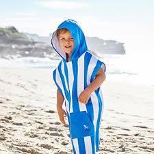 kids hooded beach towels. Family Towel Set Poncho With Hood For Swim Kids Hooded Beach Towels