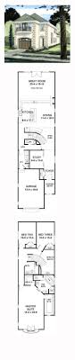 54 best narrow lot home plans images on 58 best row houses