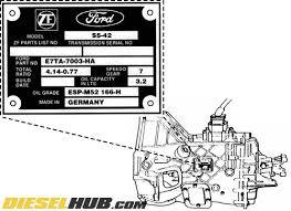 Gm Manual Transmission Identification Chart Zf S5 42 S5 47 Transmission Specs Ratios