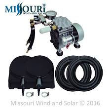pond aeration systems missouri wind and solar matala 1 4 hp air pump pond aeration kit