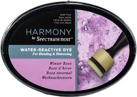 Crafters Companion Spectrum Noir Harmony Water Reactive Ink Pad Winter Rose