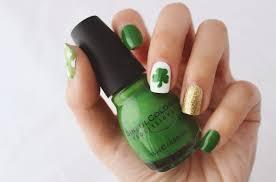 St Patrick s Day Nails Green Nail Art Ideas
