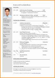 1 Page Resume Format Unique International Resume Format Best 48 E Page Resume One Page Resume