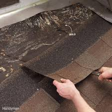 Looking for roof leaks on the outside of your house.