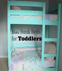 My Little Deers: DIY Mini Bunk beds for toddlers! Costs less than ...