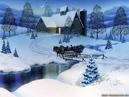 Christmas Scenes Free Downloads Free Christmas Winter Scene Clipart 10 Free Cliparts