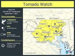 Update: Tornado watch until 8 a.m ...