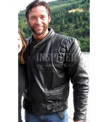 wolverine x men motorcycle leather jacket
