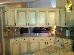 Faux Finish Cabinets Kitchen Painting Kitchen Cabinets Beige Quicuacom