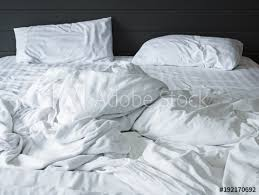 white bed sheets background. Interesting Bed Messy White Bedding Sheets And Pillow In Bedroom Background Unmade  Bed After Comfort Sleep And White Bed Sheets Background
