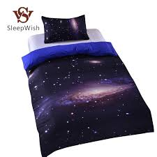 whole hipster galaxy bedding set universe outer space themed galaxy print bedlinen sheets twin single double full hot comforters set duvet sets