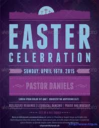 Easter Flyer Template Church – Ianswer