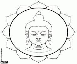 Kleurplaten Boeddhisme Kleurplaat