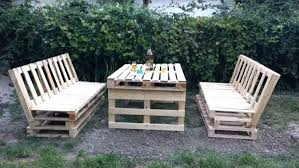 furniture of pallets. Garden Furniture Made Of Pallets From Wooden Outdoor Ideas With Wood