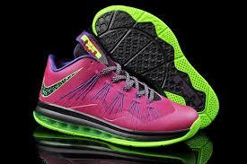 lebron purple shoes. cheap lebron 10 x low purple green black grey shoes 7