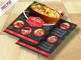 Fast Food Menu Design Templates Free If You Are Planning To Open A ...